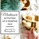 Montessori baby activities: exploring senses at six months old