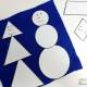 Winter Activities: Free Snowman Shapes Printables